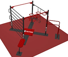 parc de fitness in aer liber